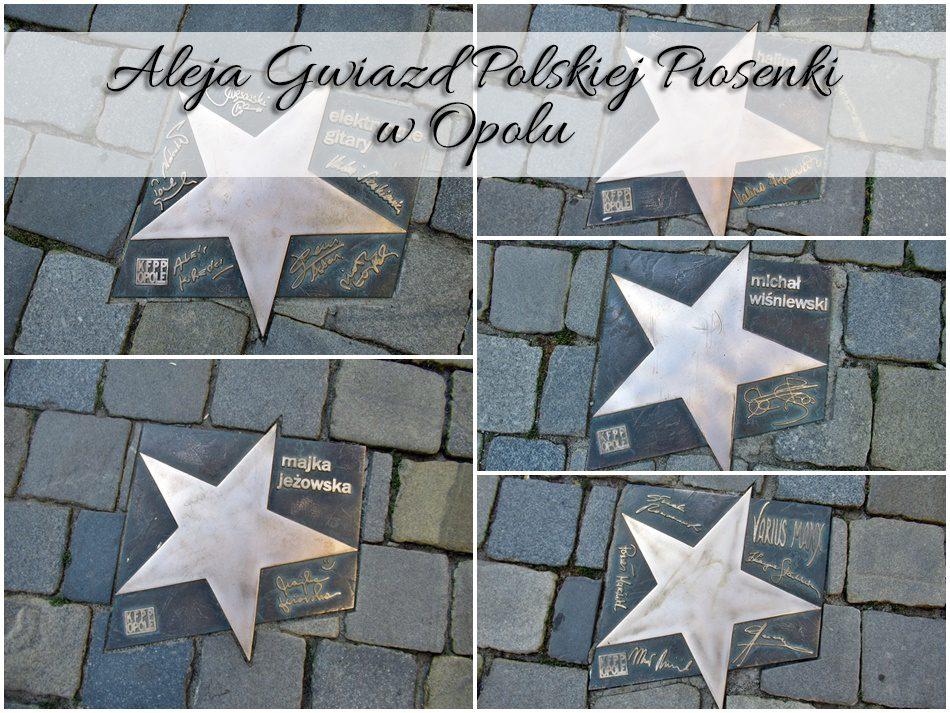 Aleja Gwiazd Polskiej Piosenki W Opolu