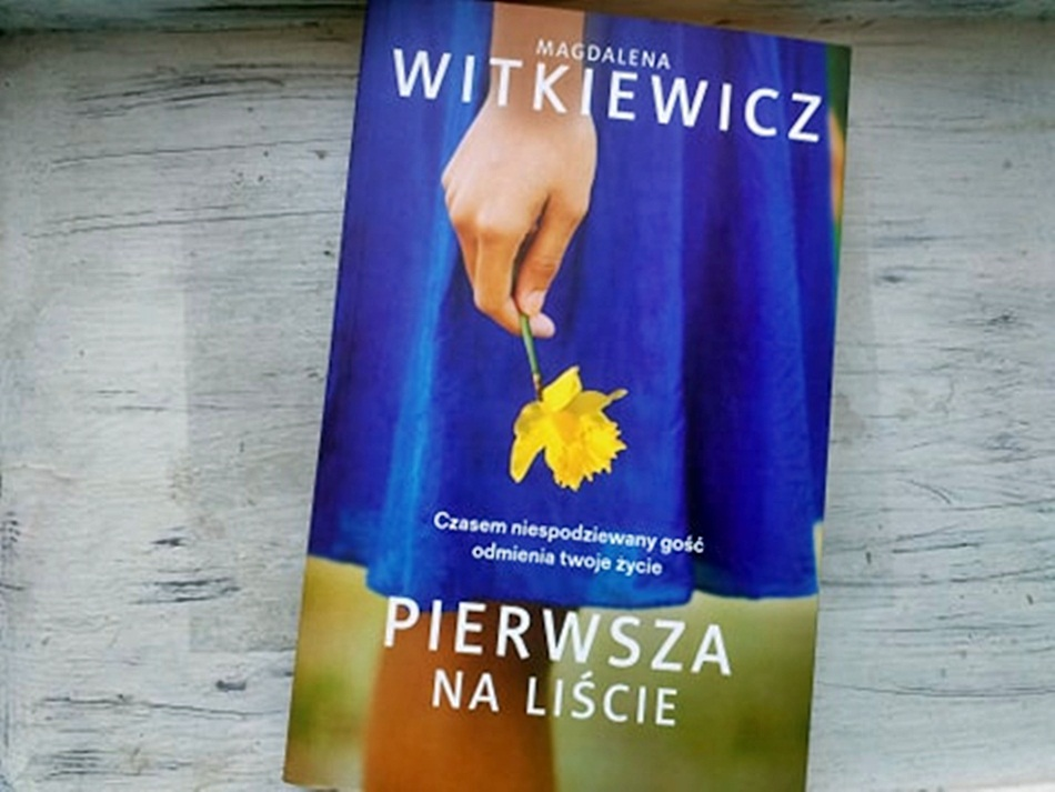 """,,Pierwsza na liście"""" Magdalena Witkiewicz"""