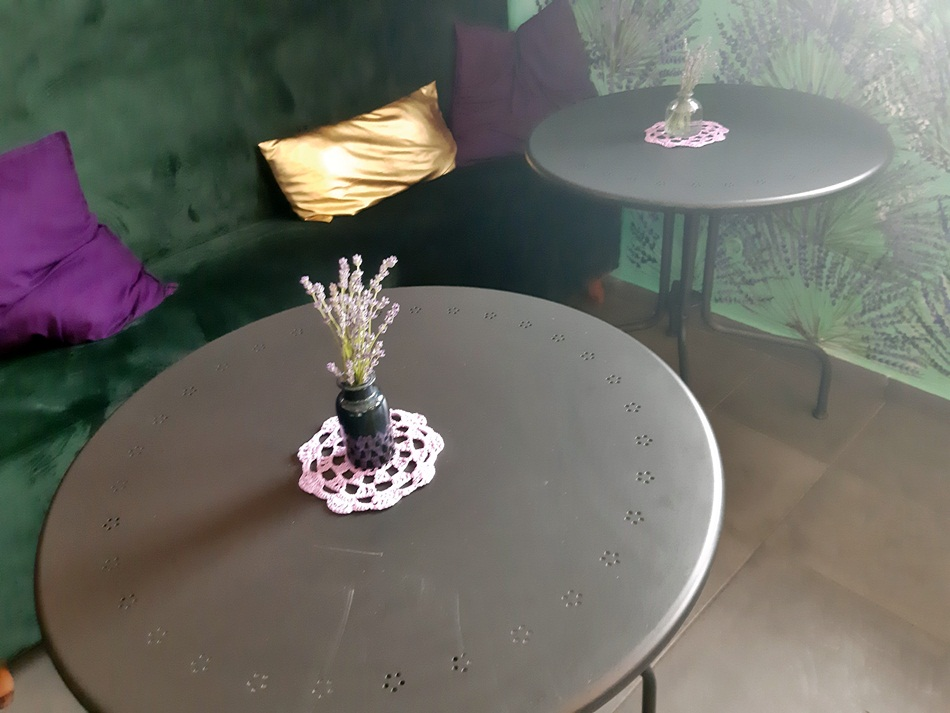 Kawiarnia Lawendowe Zdroje w Pakszynie
