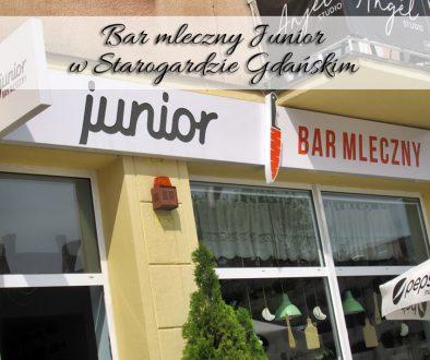 Bar mleczny Junior w Starogardzie Gdanskim