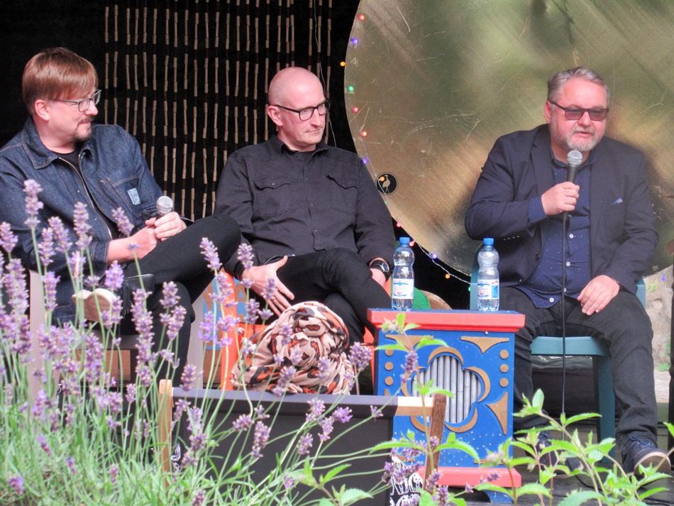 Spotkanie z Alkiem Rogozińskim, Robertem Małeckim i Ryszardem Ćwirlejem w Gnieźnie