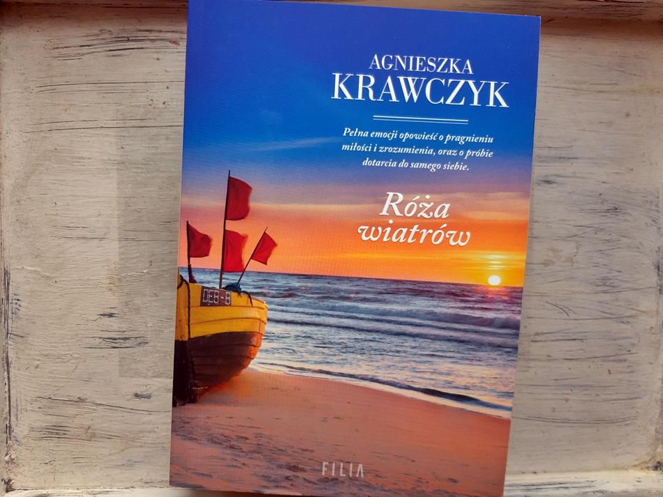 """,,Róża wiatrów"""" Agnieszka Krawczyk"""