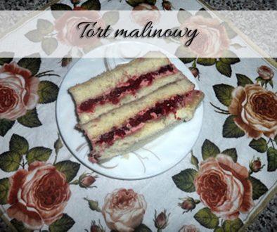 tort-malinowy