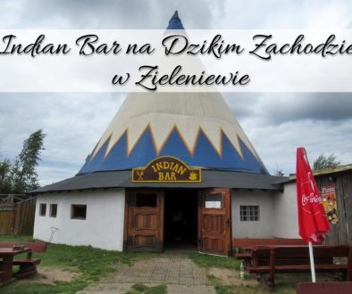 Indiana Bar na Dzikim Zachodzie w Zieleniewie