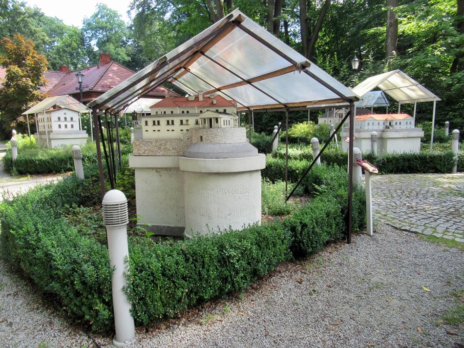 Park miniatur Ziemi Żywieckiej w Żywcu