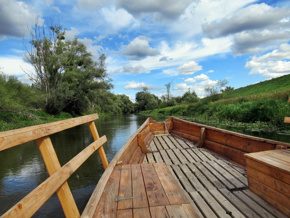 Rejs łódką po Wiśle w Świeciu