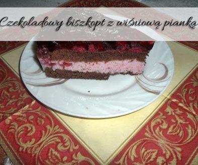 czekoladowy-biszkopt-z-wisniowa-pianka