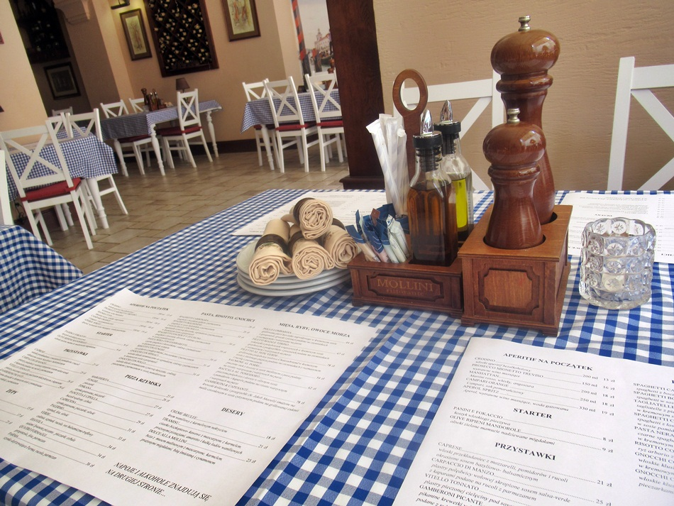 Restauracja Mollini w Poznaniu