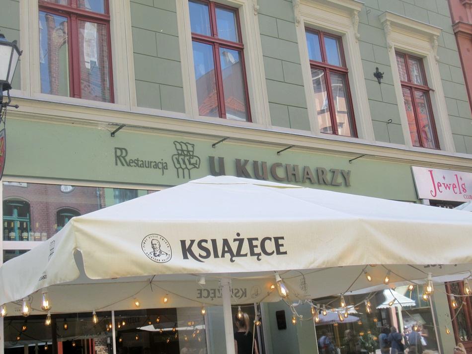 Restauracja U Kucharzy w Toruniu