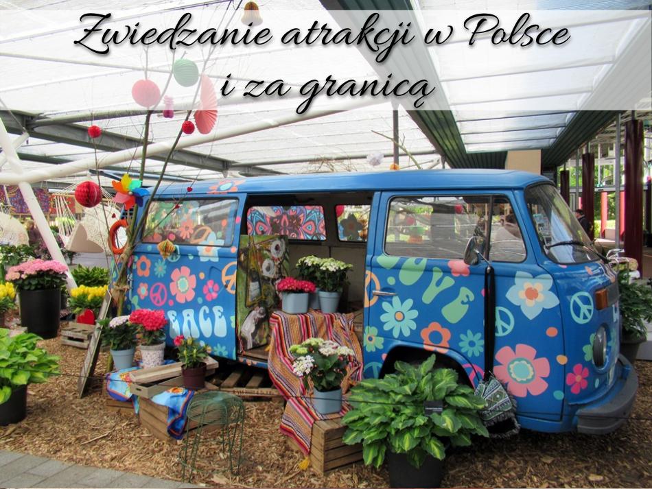 Zwiedzanie atrakcji w Polsce i za granicą