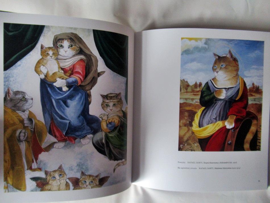 """,,Nowa galeria kotów. Druga odsłona sztuki z pazurem"""" Susan Herbert"""