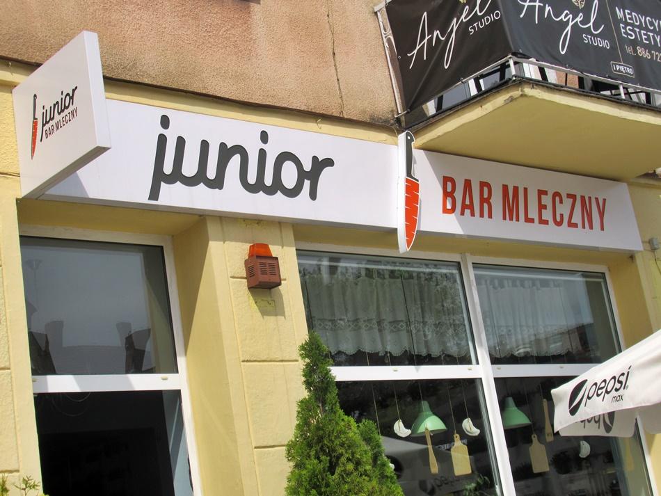 Bar mleczny Junior w Starogardzie Gdańskim