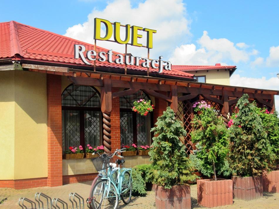 Restauracja Duet w Człuchowie