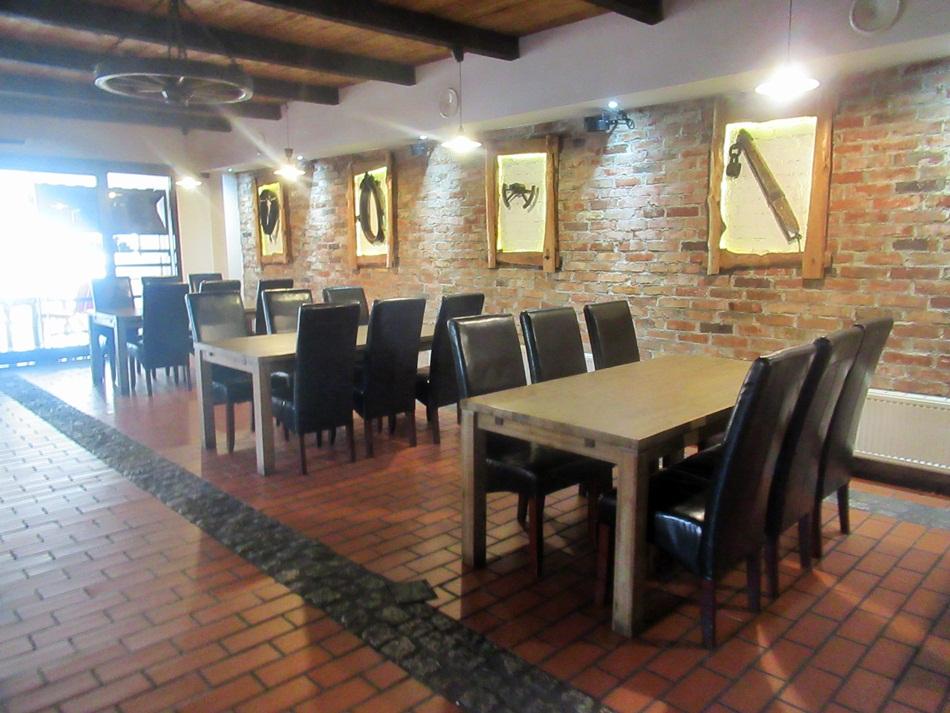 Restauracja Traper w Nowych Marzach