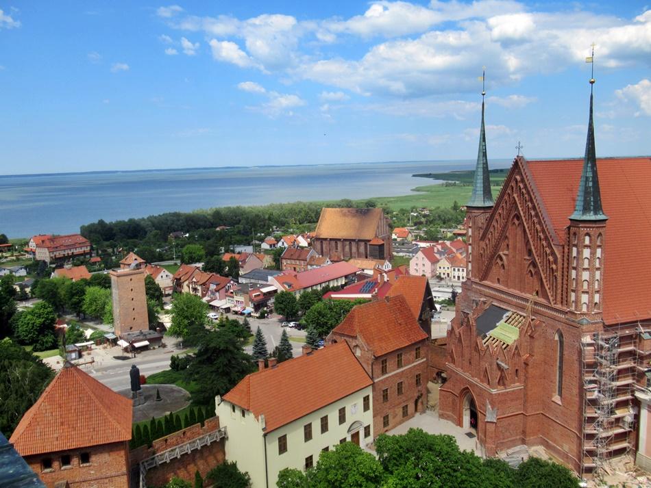Wieża katedralna we Fromborku